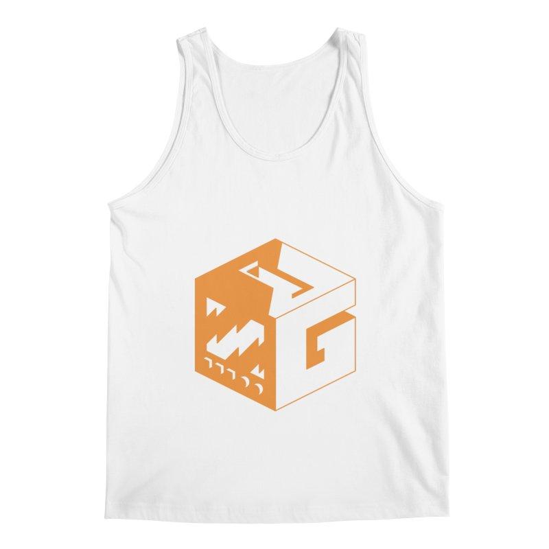 GOSU Cube (Orange Logo) Men's Tank by GamersOfOSU's Artist Shop
