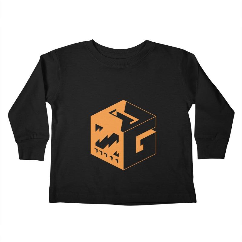 GOSU Cube (Orange Logo) Kids Toddler Longsleeve T-Shirt by GamersOfOSU's Artist Shop