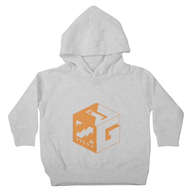 GOSU Cube (Orange Logo) Kids Toddler Pullover Hoody by GamersOfOSU's Artist Shop