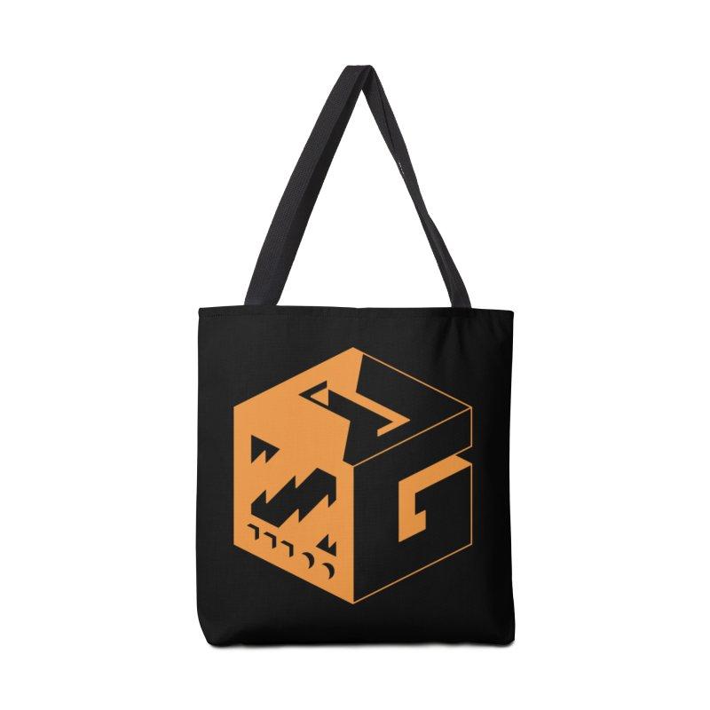 GOSU Cube (Orange Logo) Accessories Bag by GamersOfOSU's Artist Shop
