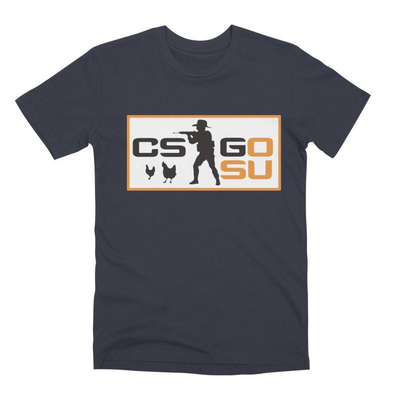 Esports CS:GO Logo Men's T-Shirt by GamersOfOSU's Artist Shop