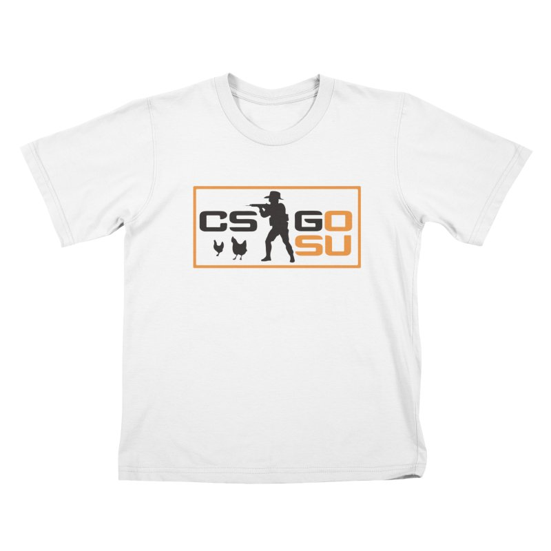 Esports CS:GO Logo Kids T-Shirt by GamersOfOSU's Artist Shop