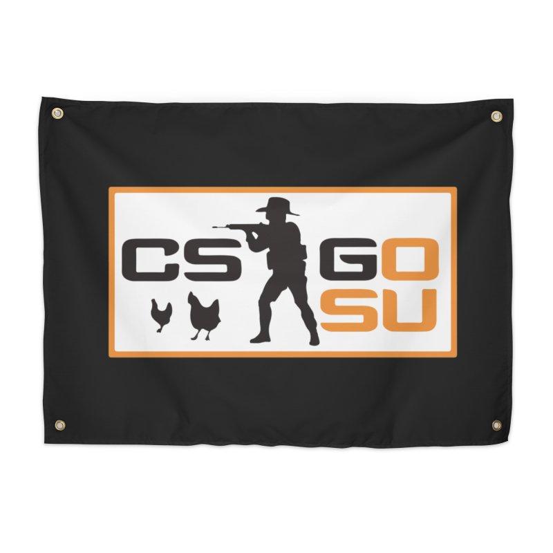 Esports CS:GO Logo Home Tapestry by GamersOfOSU's Artist Shop