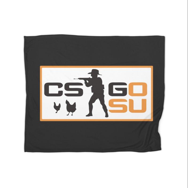 Esports CS:GO Logo Home Blanket by GamersOfOSU's Artist Shop