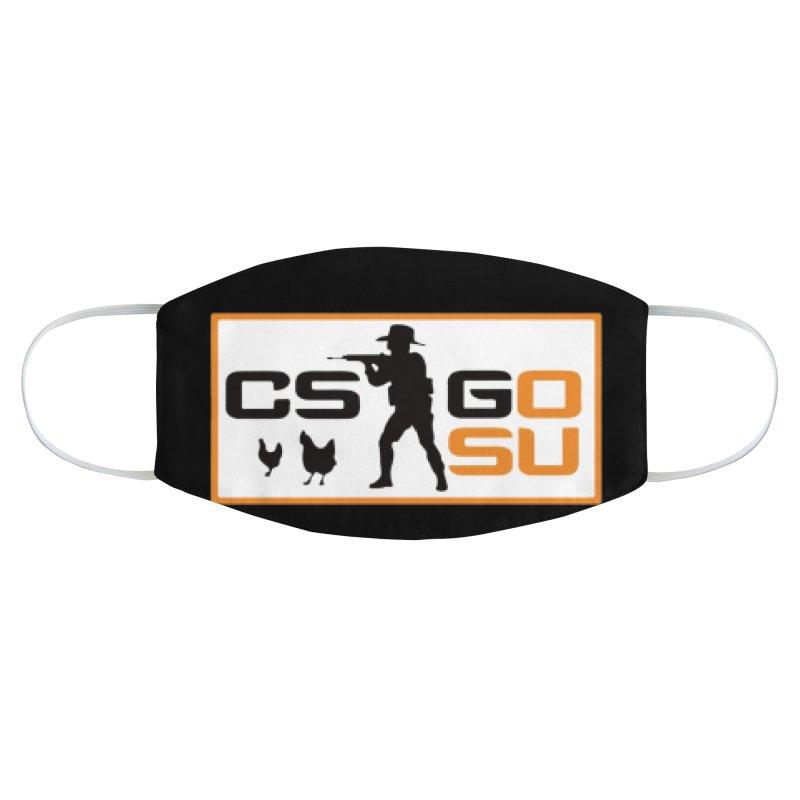 Esports CS:GO Logo Accessories Face Mask by GamersOfOSU's Artist Shop