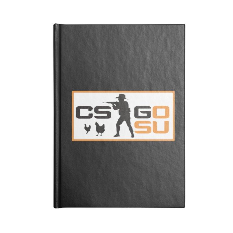 Esports CS:GO Logo Accessories Notebook by GamersOfOSU's Artist Shop