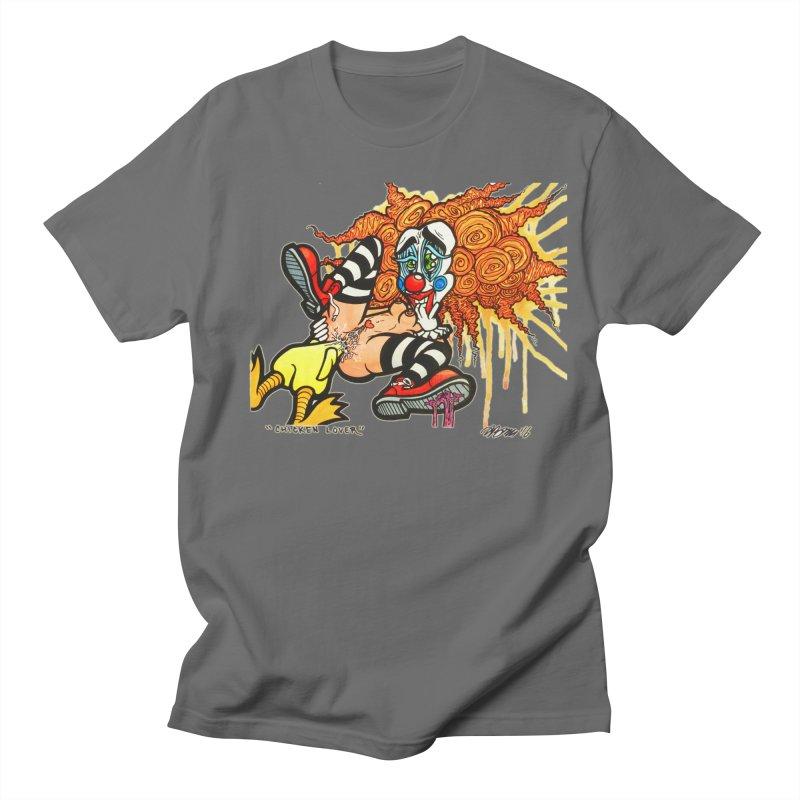 Chicken Lover Men's T-Shirt by Garcheese's Artist Shop