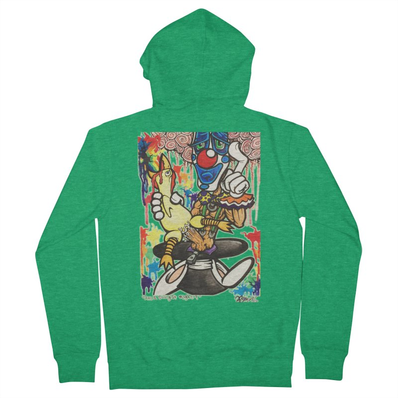 Am I Doing It Right? Men's Zip-Up Hoody by Garcheese's Artist Shop