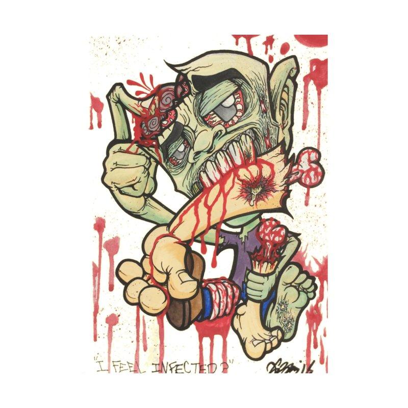 I Feel Infected? Men's T-Shirt by Garcheese's Artist Shop