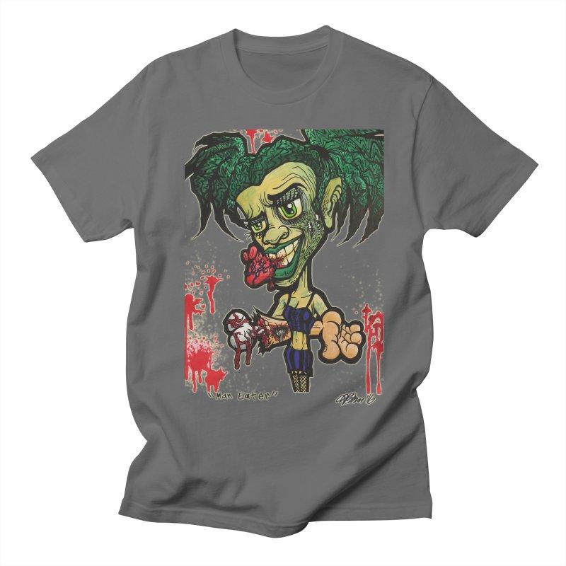 Man Eater Men's T-Shirt by Garcheese's Artist Shop