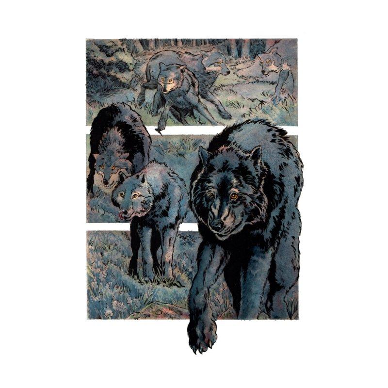 The Black Wolf by Gatorhorse's Artist Shop