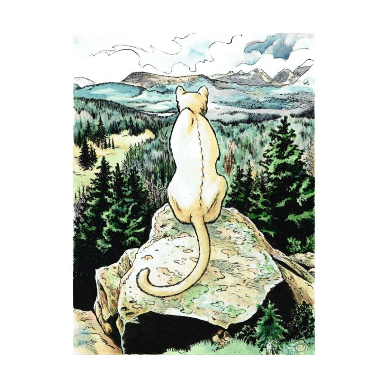 The Remote Cat at the Uinta Mountains by Gatorhorse's Artist Shop