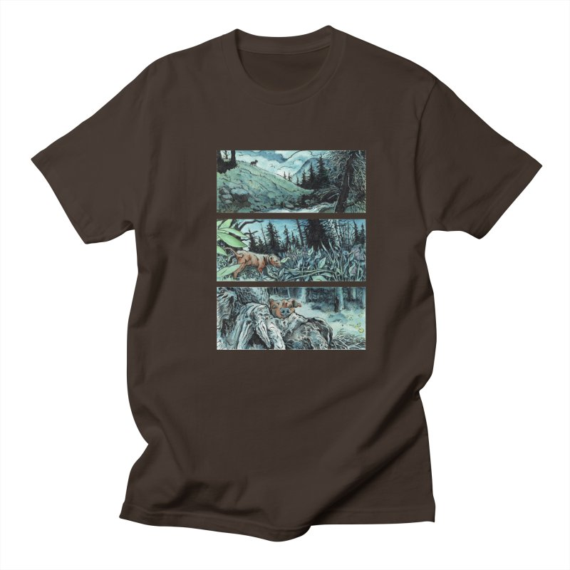 The Shadow Under the Leaf, Page 10 Men's Regular T-Shirt by Gatorhorse's Artist Shop