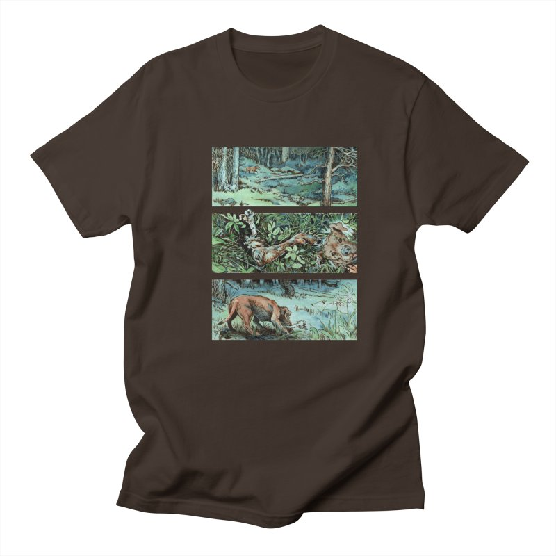 """The Shadow Under the Leaf"" page 11 Men's Regular T-Shirt by Gatorhorse's Artist Shop"