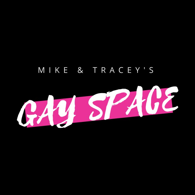 Gay Space - White Logo Women's Sweatshirt by Gay Space Podcast