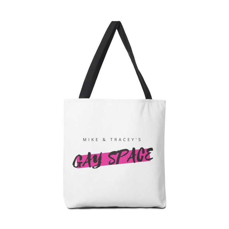 Gay Space - Black Logo Accessories Bag by Gay Space Podcast