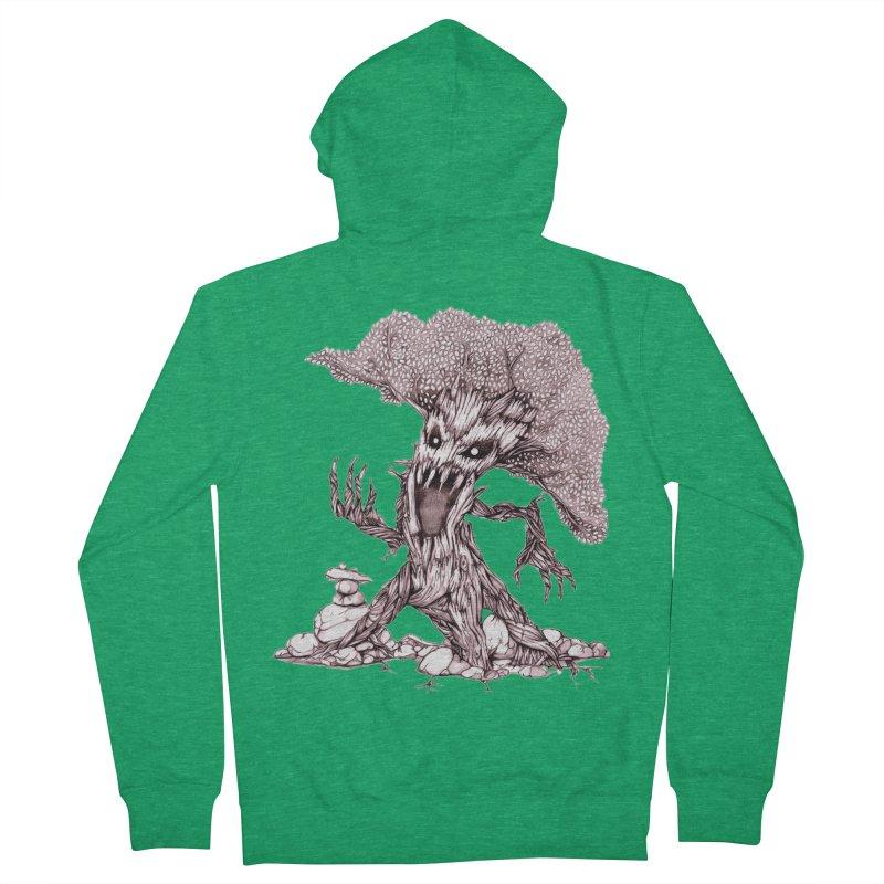 Beware of Trees Men's Zip-Up Hoody by GeckoTales Artist Shop