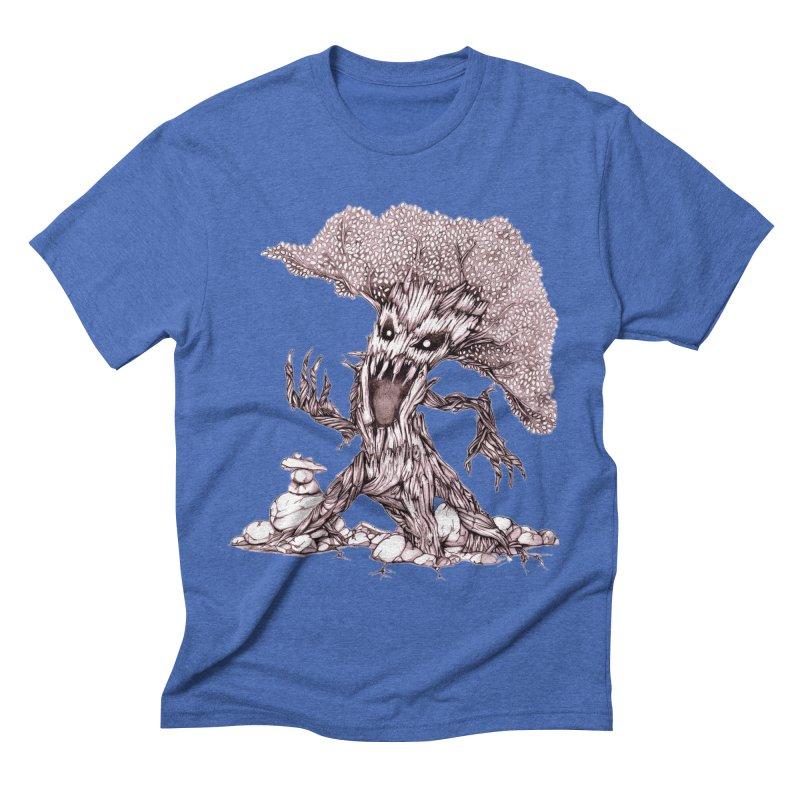 Beware of Trees Men's Triblend T-Shirt by GeckoTales Artist Shop
