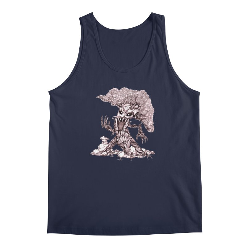 Beware of Trees Men's Tank by GeckoTales Artist Shop