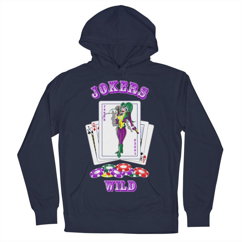 Jokers Wild Men's Pullover Hoody by GeckoTales Artist Shop