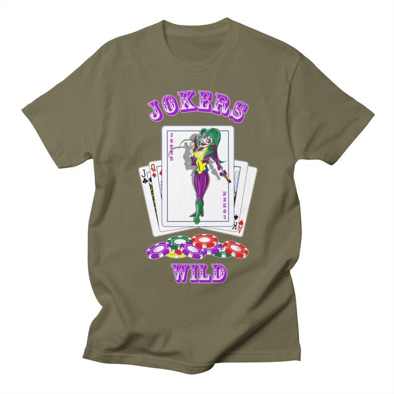 Jokers Wild Men's T-Shirt by GeckoTales Artist Shop