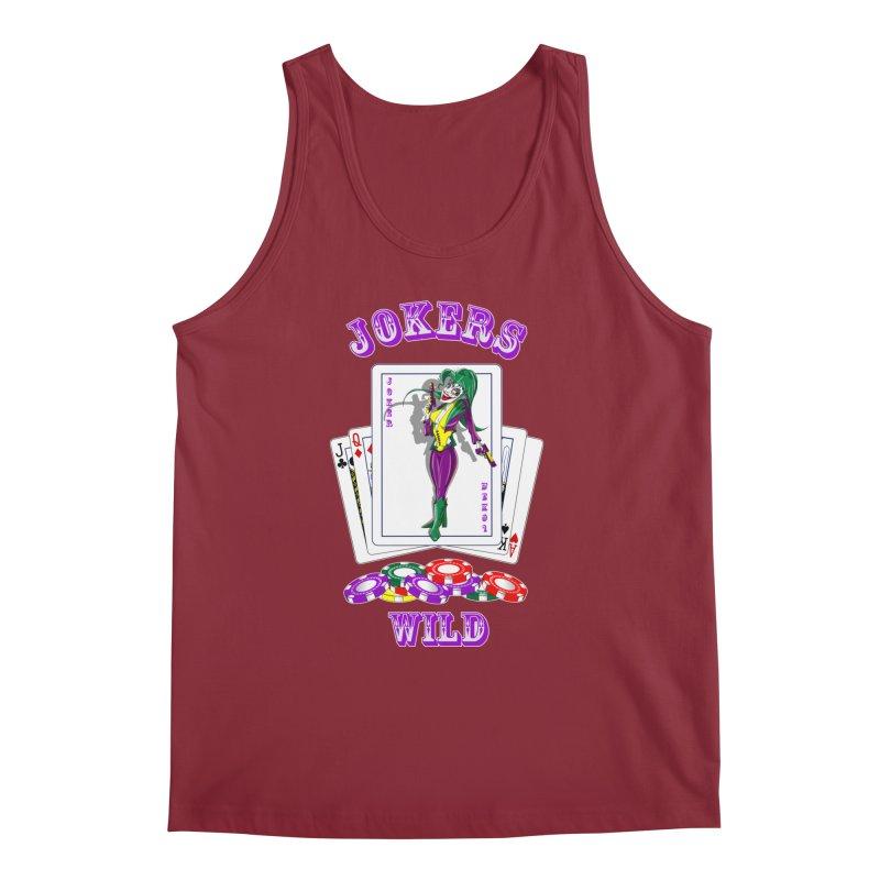 Jokers Wild Men's Tank by GeckoTales Artist Shop