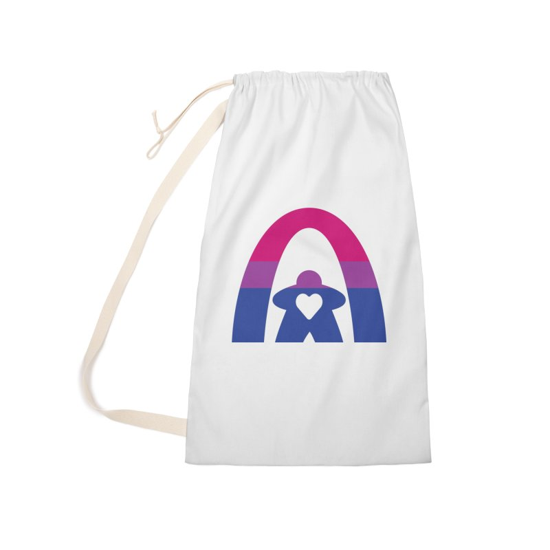 Geekway Bi Accessories Laundry Bag Bag by Geekway's Artist Shop