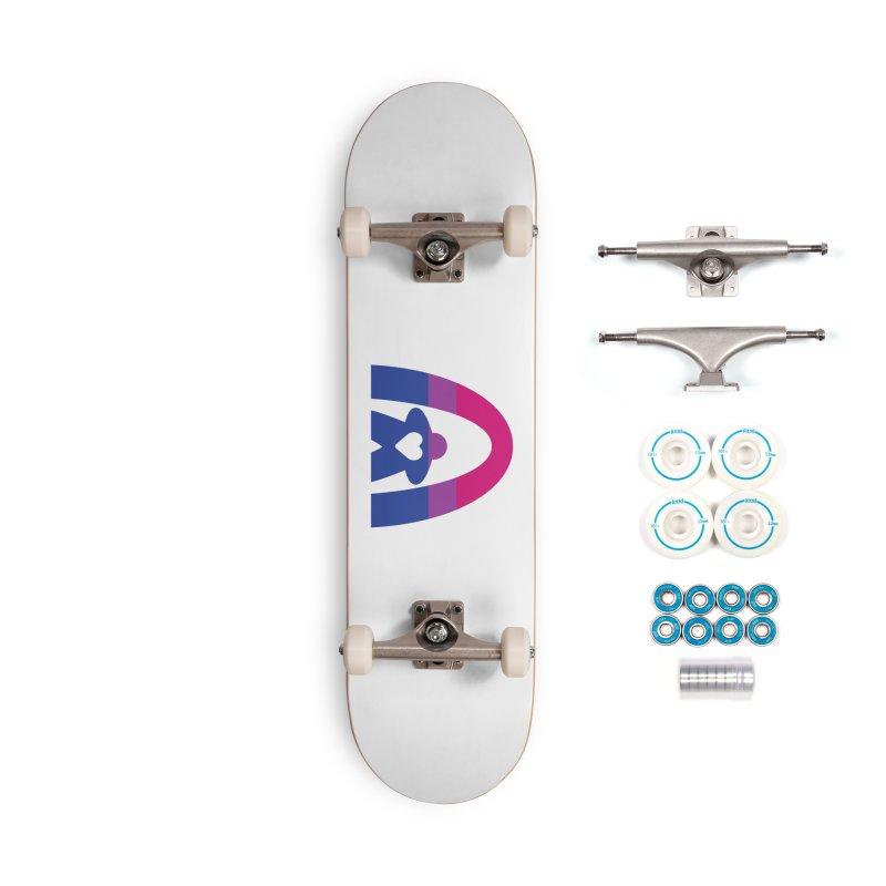 Geekway Bi Accessories Skateboard by Geekway's Artist Shop