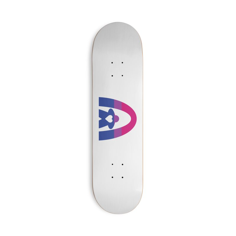 Geekway Bi Accessories Deck Only Skateboard by Geekway's Artist Shop