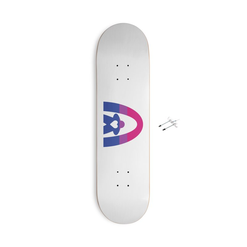 Geekway Bi Accessories With Hanging Hardware Skateboard by Geekway's Artist Shop