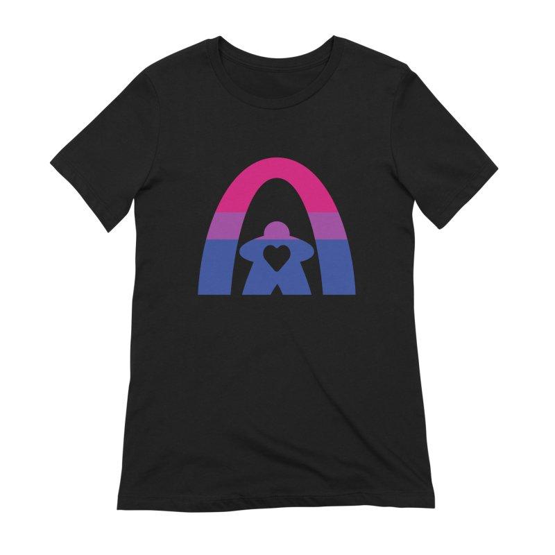 Geekway Bi Women's Extra Soft T-Shirt by Geekway's Artist Shop