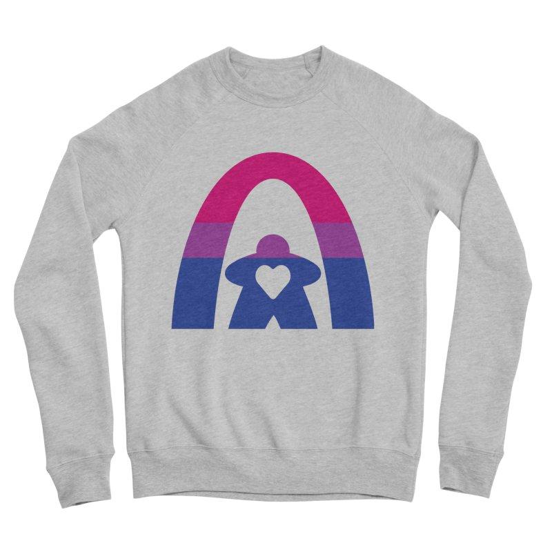 Geekway Bi Men's Sponge Fleece Sweatshirt by Geekway's Artist Shop