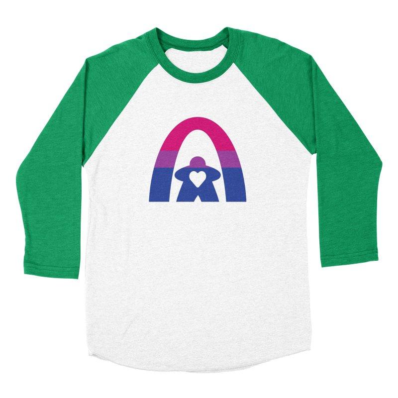 Geekway Bi Men's Baseball Triblend Longsleeve T-Shirt by Geekway's Artist Shop