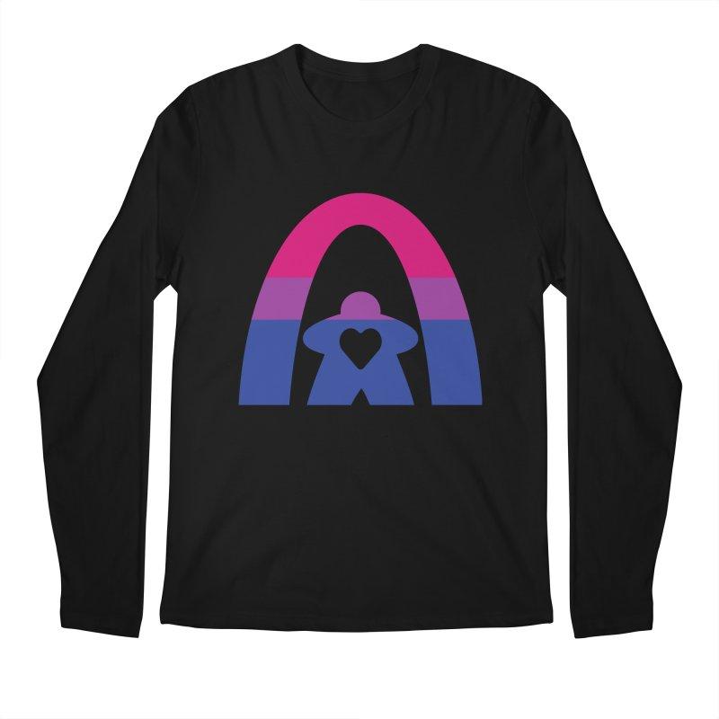 Geekway Bi Men's Regular Longsleeve T-Shirt by Geekway's Artist Shop