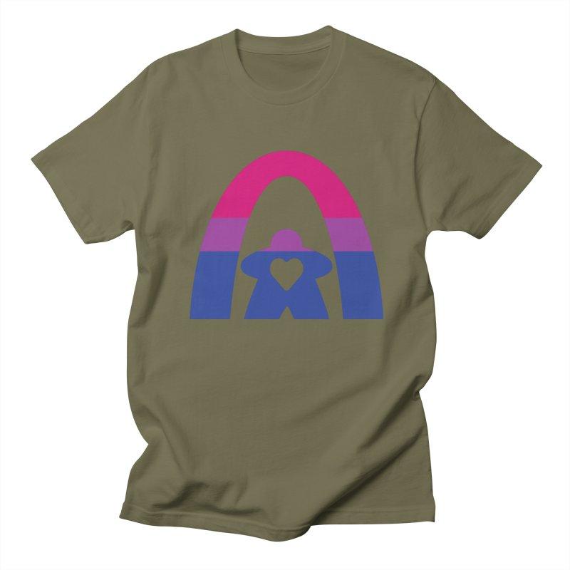 Geekway Bi Men's Regular T-Shirt by Geekway's Artist Shop
