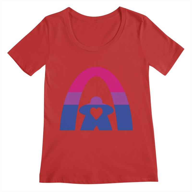 Geekway Bi Women's Regular Scoop Neck by Geekway's Artist Shop