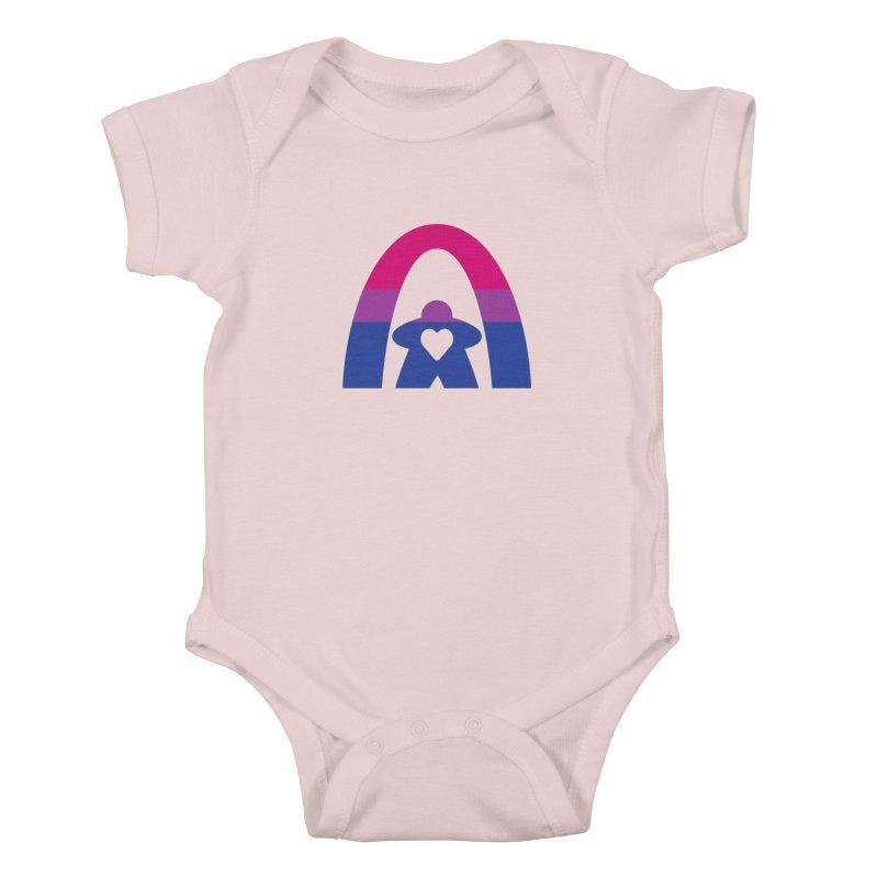 Geekway Bi Kids Baby Bodysuit by Geekway's Artist Shop