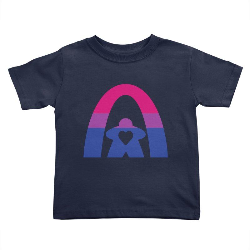 Geekway Bi Kids Toddler T-Shirt by Geekway's Artist Shop