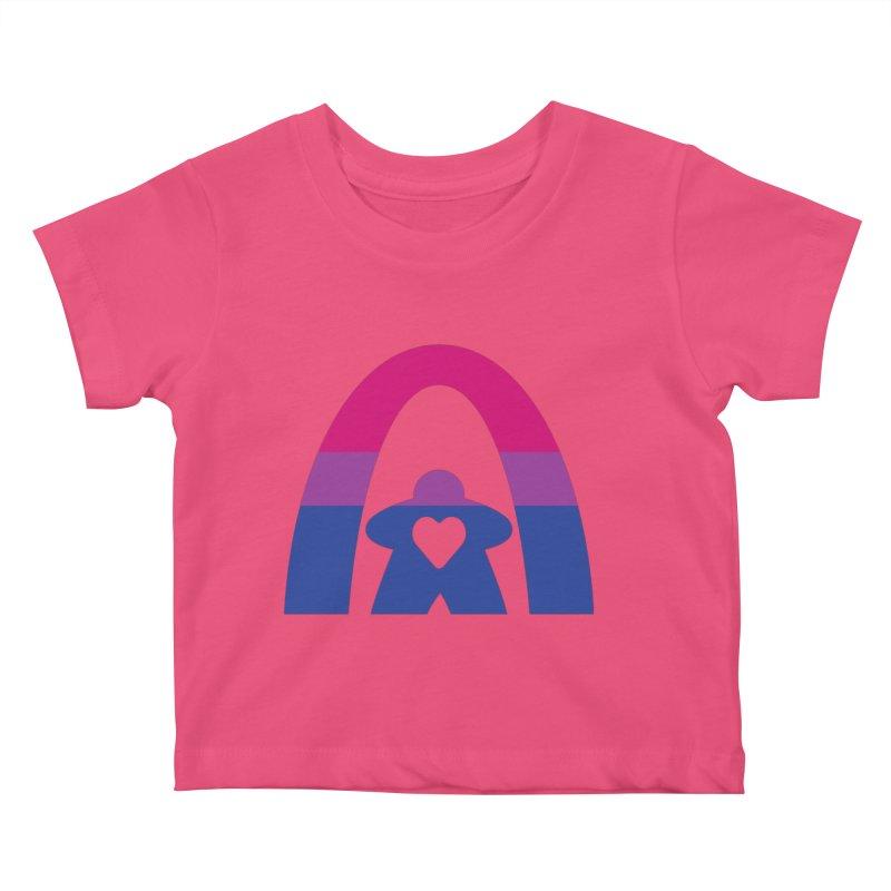 Geekway Bi Kids Baby T-Shirt by Geekway's Artist Shop