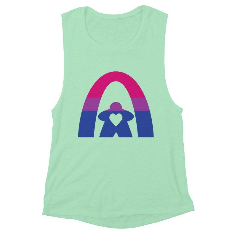 Geekway Bi Women's Muscle Tank by Geekway's Artist Shop