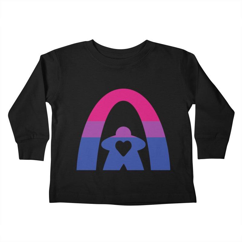 Geekway Bi Kids Toddler Longsleeve T-Shirt by Geekway's Artist Shop