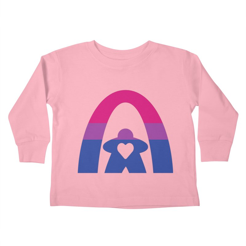 Geekway Bi Kids Toddler Longsleeve T-Shirt by Geekway's Artist Shop