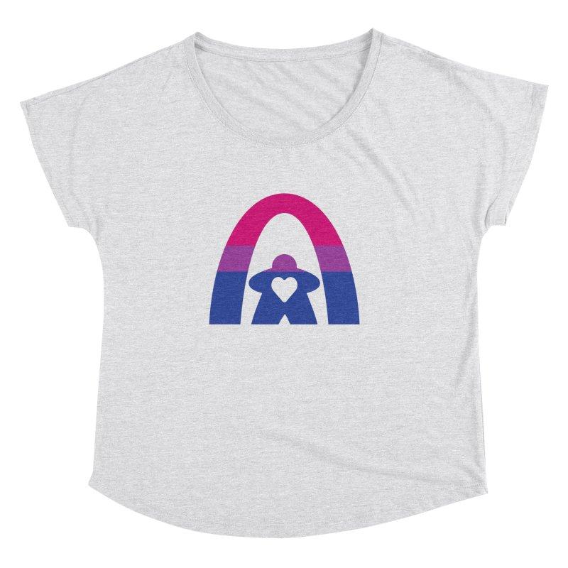 Geekway Bi Women's Dolman Scoop Neck by Geekway's Artist Shop