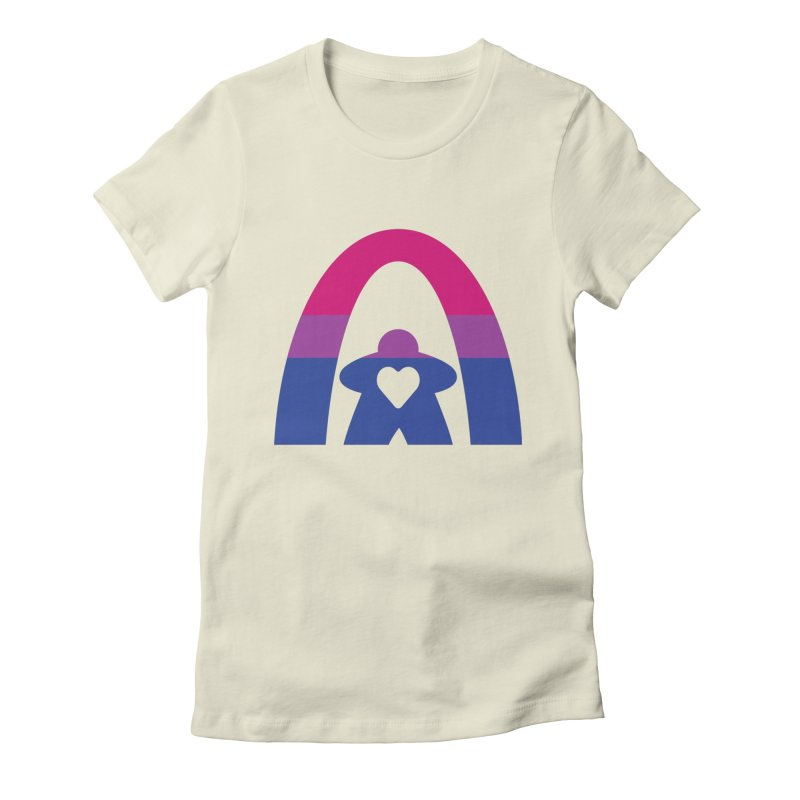 Geekway Bi Women's Fitted T-Shirt by Geekway's Artist Shop