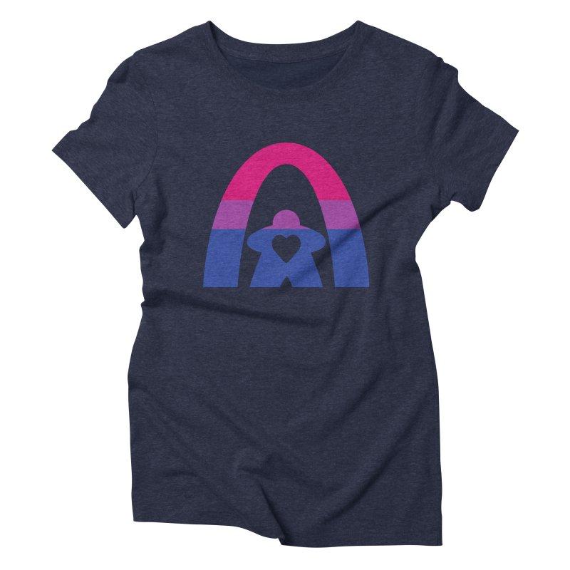 Geekway Bi Women's Triblend T-Shirt by Geekway's Artist Shop
