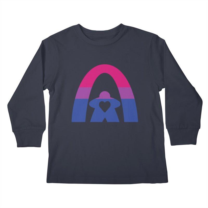 Geekway Bi Kids Longsleeve T-Shirt by Geekway's Artist Shop