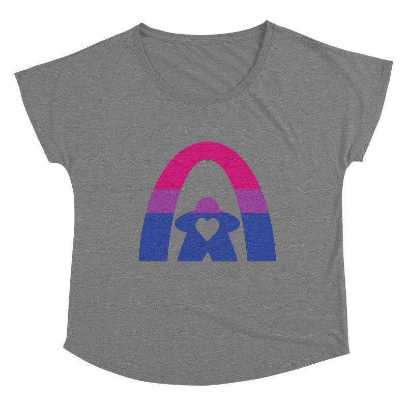 Geekway Bi Women's Scoop Neck by Geekway's Artist Shop