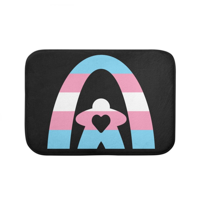 Geekway Trans Home Bath Mat by Geekway's Artist Shop