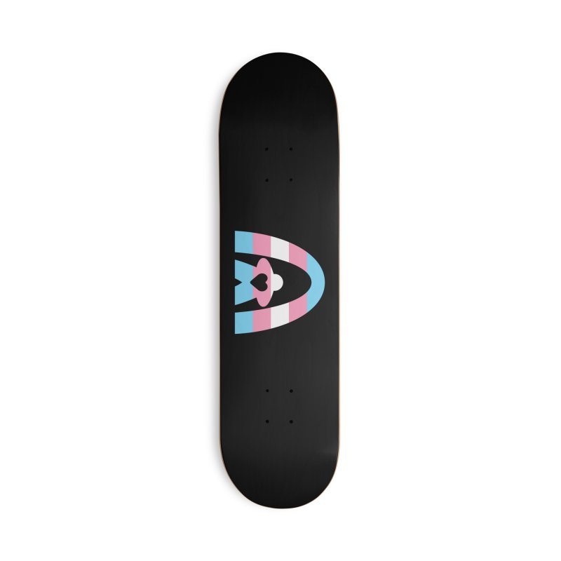 Geekway Trans Accessories Deck Only Skateboard by Geekway's Artist Shop