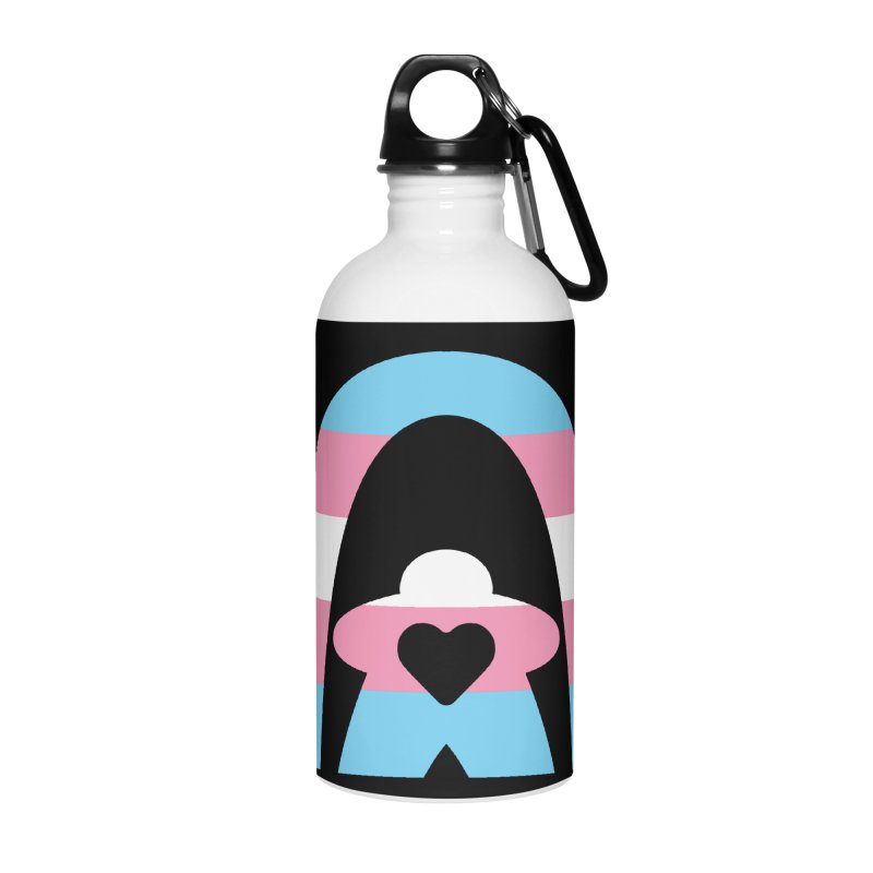 Geekway Trans Accessories Water Bottle by Geekway's Artist Shop